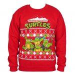 Teenage Mutant Ninja Turtles Ugly Christmas Sweater Red