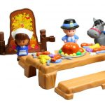 Thanksgiving Celebration – Pilgrims and Native Americans Toy