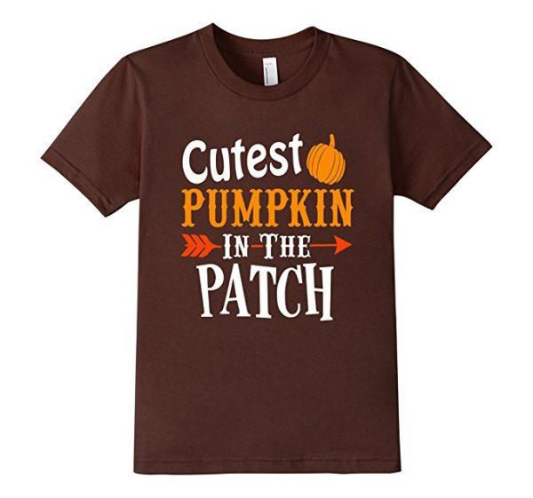 Thanksgiving Cute Pumpkin T-Shirt