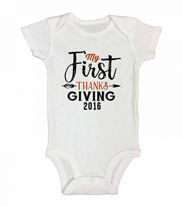 Thanksgiving Onesie Baby Shirt