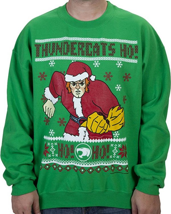 Thundercats Lion-O Ugly Christmas Sweater