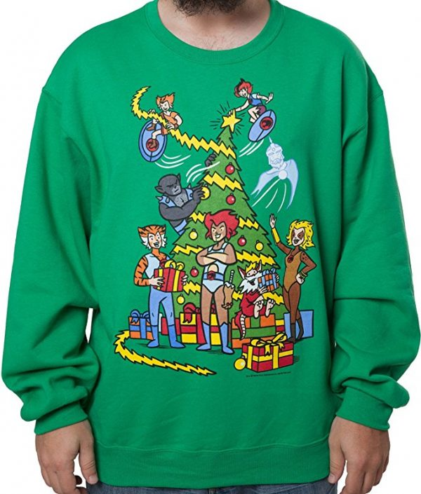 Thundercats Ugly Christmas Sweater