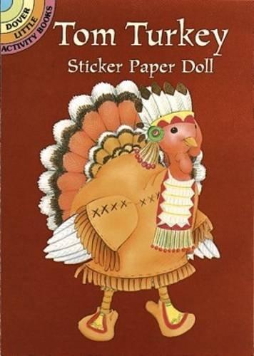 Tom Turkey Sticker Paper Doll