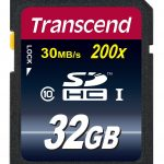 Transcend Class 10 SDHC Flash Memory Card