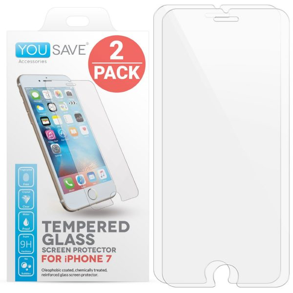 Yousave iPhone 7 Glass Screen Protector