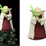 best 2016 Star Wars Lighted Yoda Tree Topper gift idea