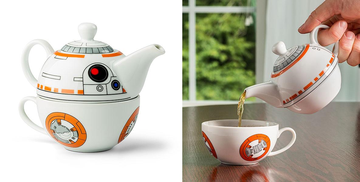 best 2016 Star Wars gift idea BB-8 Tea Set