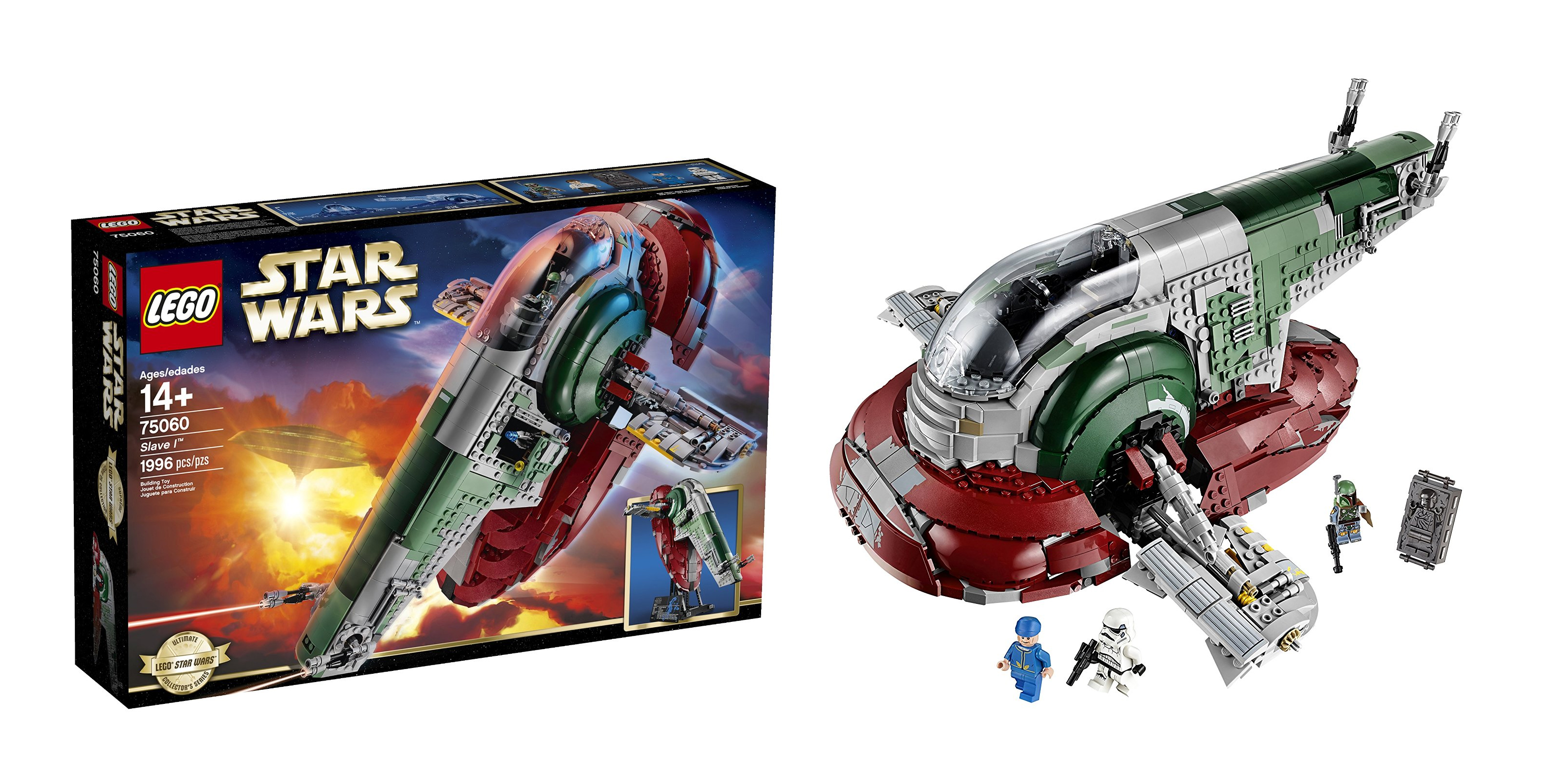 best gift ideas for star wars fans LEGO Star Wars Slave I Toy