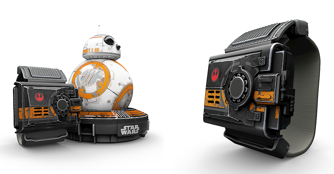 best star wars gift ideas 2016 Special Edition BB-8 Sphero with Force Band