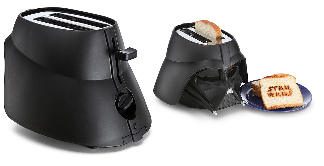 best star wars gift ideas 2016 Star Wars Darth Vader Toaster