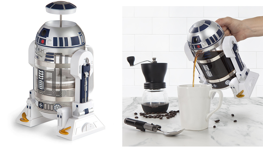 best star wars gift ideas 2016 Star Wars R2-D2 Coffee Press