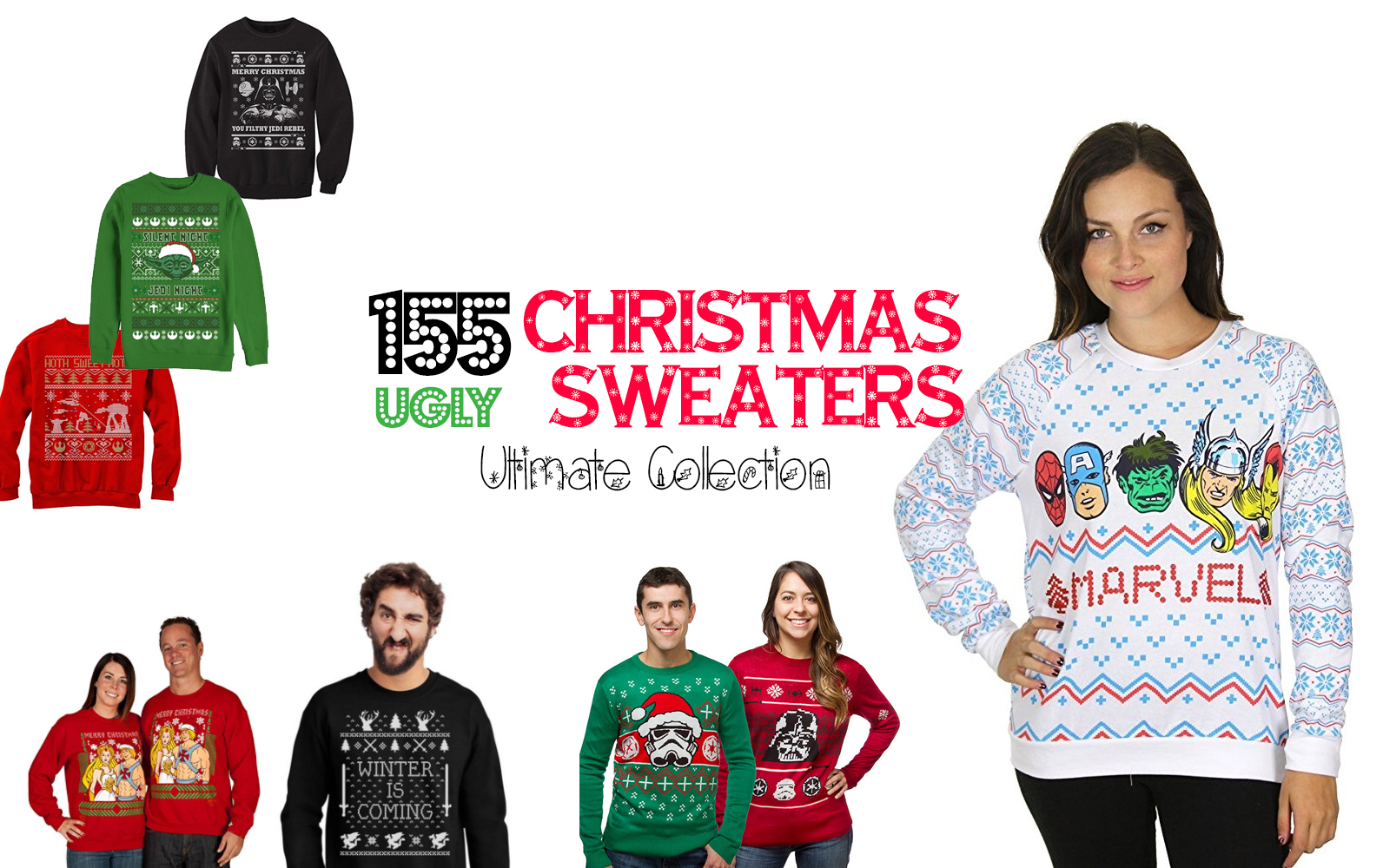 155 Ugly Christmas Sweaters: The Ultimate Collection - Walyou