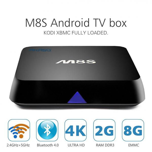 AKASO M8S Android TV Box