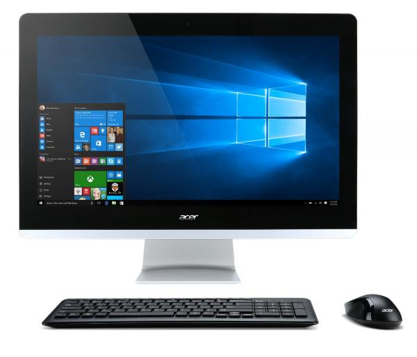 Acer Aspire All-in-One Desktop Computer with 23.8-inch Full HD Screen