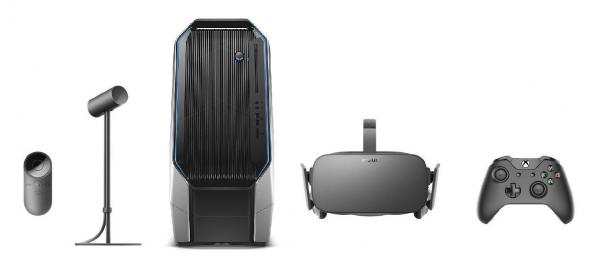 Alienware Desktop PC + Oculus Rift VR Set Bundle