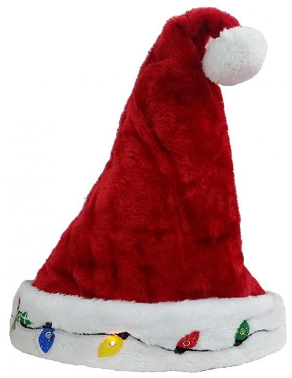 Blinking Santa Hat