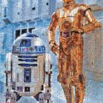 C 3PO and R2 D2 Jigsaw Bigjigs Puzzle