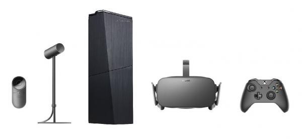 CyberpowerPC Desktop + Oculus Rift VR Set Bundle