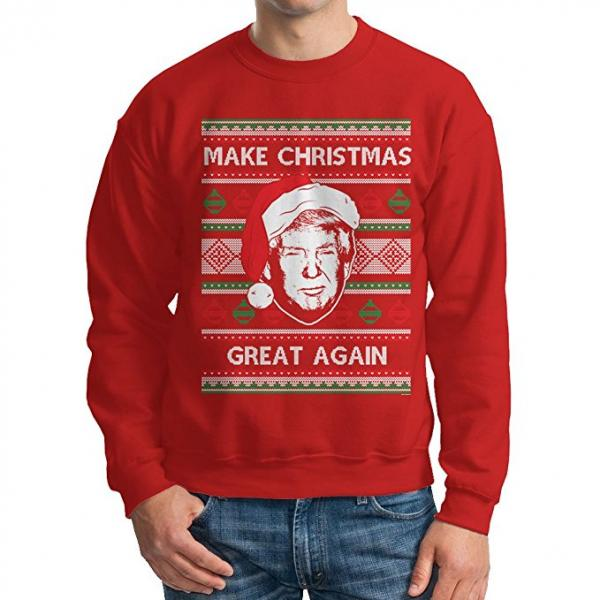 Donald Trump 'Make Christmas Great Again' Ugly Christmas Sweater