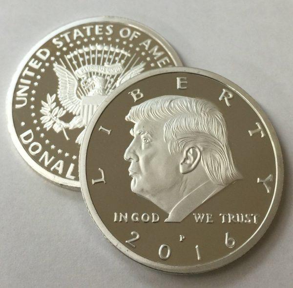 Donald Trump Silver Eagle Novelty Coin