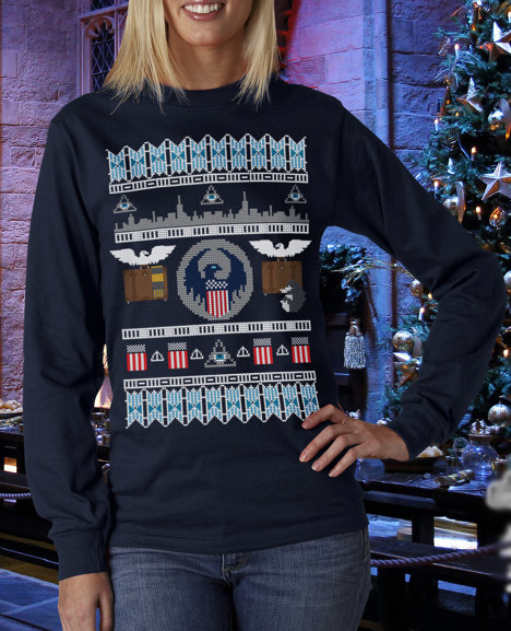 fantastic beasts and where to find them ugly sweater