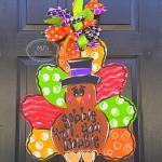 Funny Thanksgiving Door Hanger