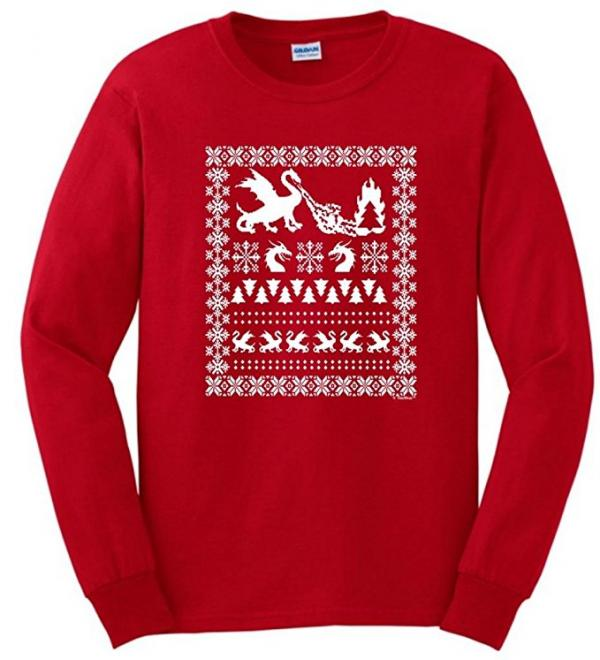 Game of Thrones Dragons Ugly Christmas Sweater
