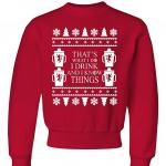 Game of Thrones 'I Drink and I Know Things' Ugly Christmas Sweater