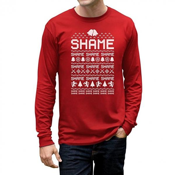 Game of Thrones Shame Ugly Christmas Sweater