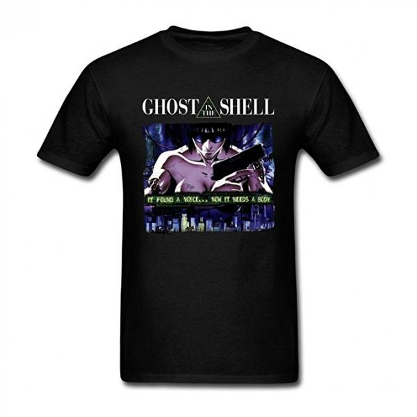 Ghost in a Shell Poster-Style T-Shirt