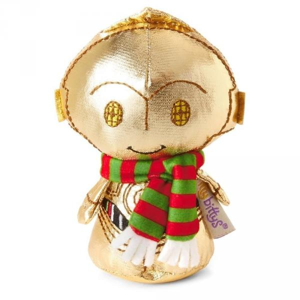 Hallmark itty bittys Star Wars Holiday C-3PO Stuffed Animal