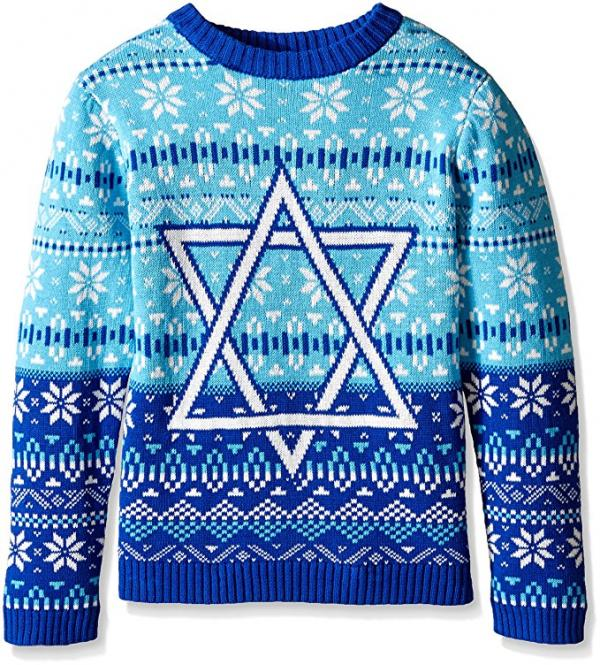 Hanukkah Star of David Ugly Christmas Sweater