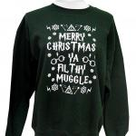 Merry Christmas Ya Filthy Muggle Ugly Christmas Sweater