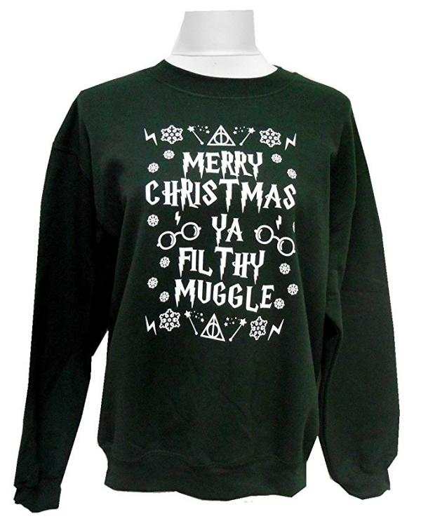 Merry Christmas Ya Filthy Muggle Ugly Christmas Sweater