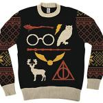 harry-potter-owl-deathly-hallows-sign-adult-black-ugly-christmas-sweater