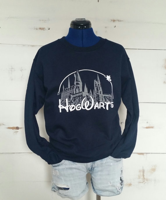 hogwarts castle sweater