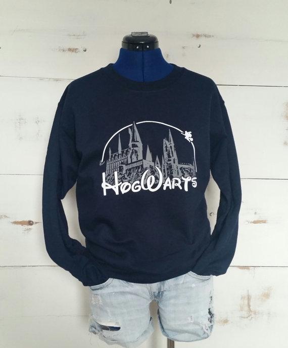hogwarts castle sweater