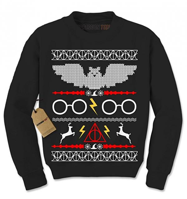 Hogwarts Ugly Christmas Sweater