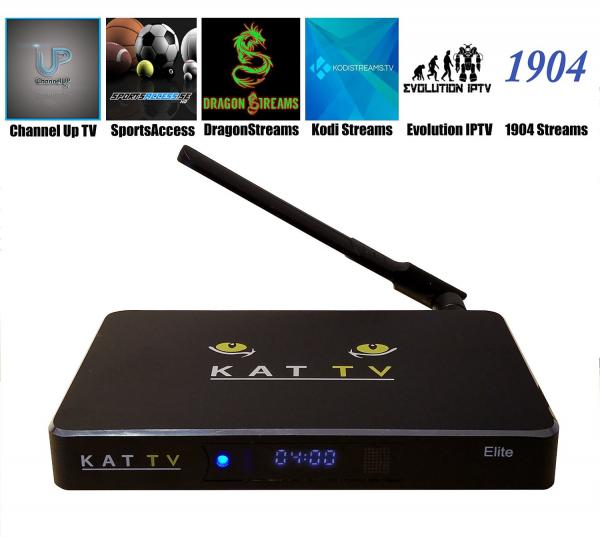 KAT-TV Elite Android HD TV Streaming Box With Kodi