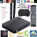KUELE 2017 Streaming Media Player With KODI 17 & Android 6.0