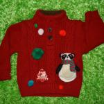 knitted-christmas-sweater-with-panda-design