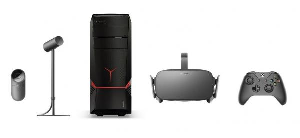 Lenovo Desktop + Oculus Rift VR Set Bundle