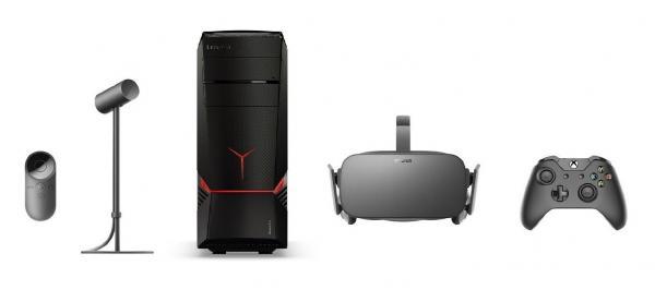 Lenovo Gaming Desktop & Oculus Rift VR Headset Bundle