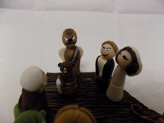 Light Side Star Wars Christmas Nativity