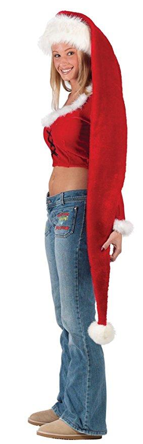 Long Christmas Santa Hat