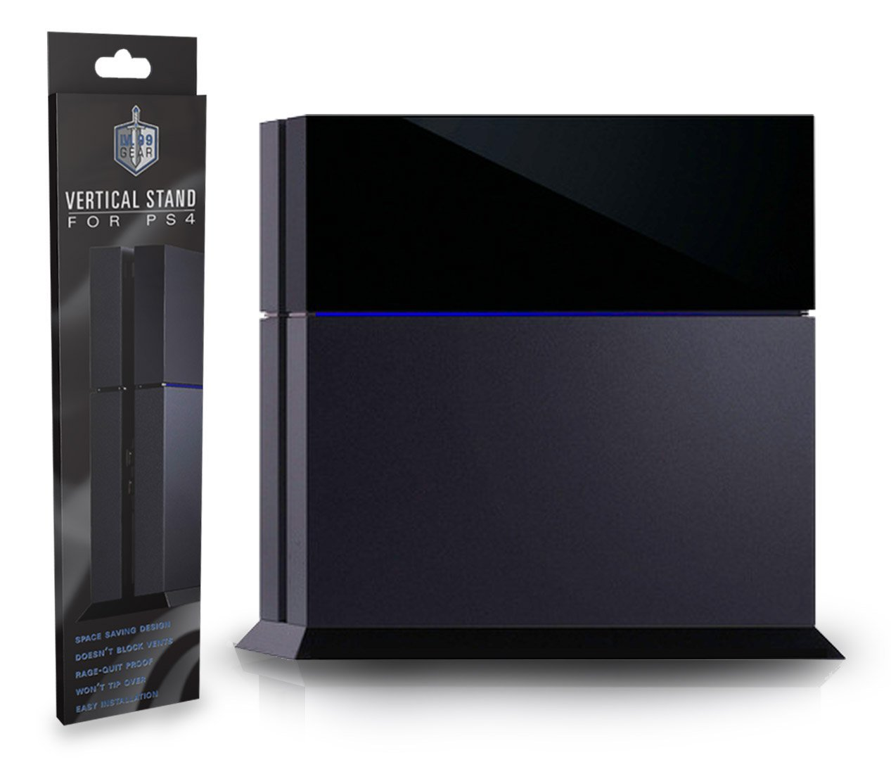 lvl 99 gear ps4 console vertical stand