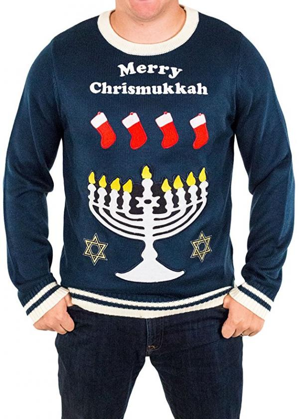 Merry Chrismukkah Ugly Sweater