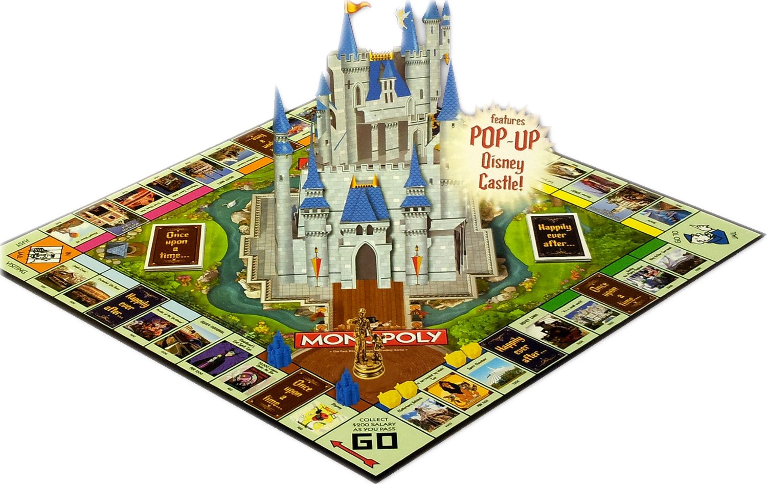 Monopoly Disney Theme Park Edition
