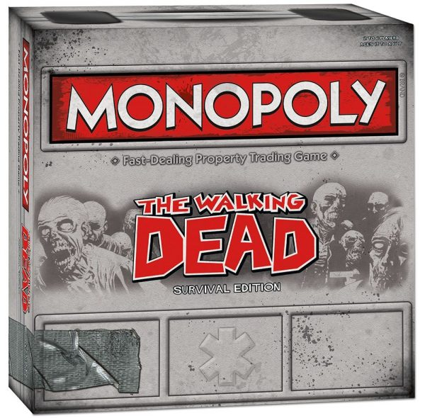 Monopoly Game The Walking Dead Survival Edition