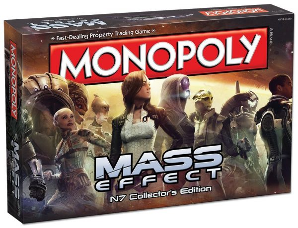 Monopoly Mass Effect N7 Collector's Edition Board Game